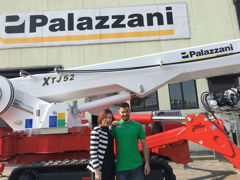 Nella tela del Ragno Palazzani - Palazzani piattaforma cingolata piattaforme cingolate ragno -In quota Notizie - MC5.0-Macchine Cantieri 2
