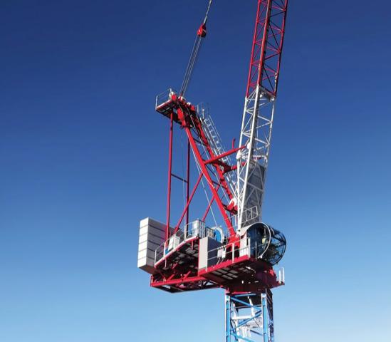 La nuova gru con braccio a volata variabile di Raimondi Cranes - gru a torre Raimondi Cranes -In quota Notizie - MC5.0-Macchine Cantieri