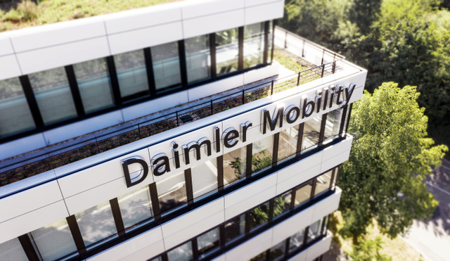 Nasce Daimler Mobility AG - camion Daimler LCV leasing Mercedes-Benz noleggio truck van veicoli commerciali veicoli industriali veicolo commerciale veicolo industriale -Notizie Veicoli industriali e leggeri - MC5.0-Macchine Cantieri