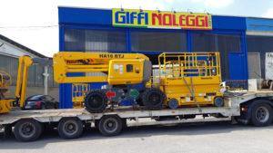 Partnership di successo piattaforme aeree piattaforma aerea Haulotte Giffi Noleggi