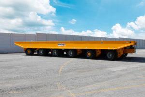 Un altro trasportatore Cometto per la Polonia trasporto eccezionale trasporti eccezionali Cometto