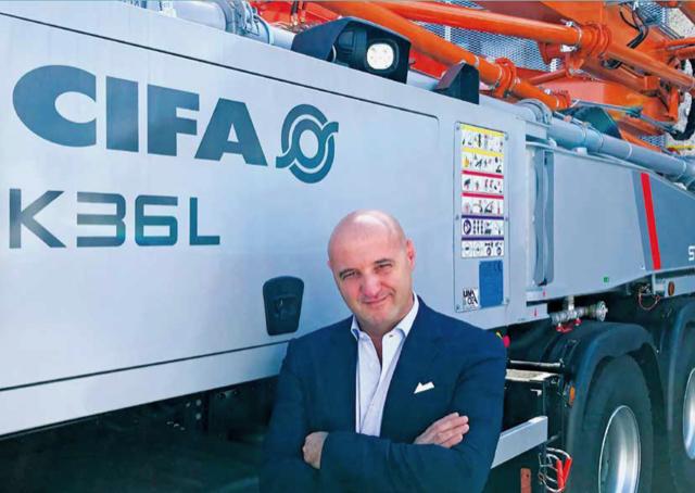 Un nuovo responsabile Europa per Cifa - Cifa -Calcestruzzo Notizie - MC5.0-Macchine Cantieri