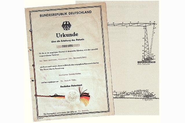 La prima gru a torre mobile di Liebherr compie 70 anni - gru a torre Liebherr -In quota Notizie - MC5.0-Macchine Cantieri 3