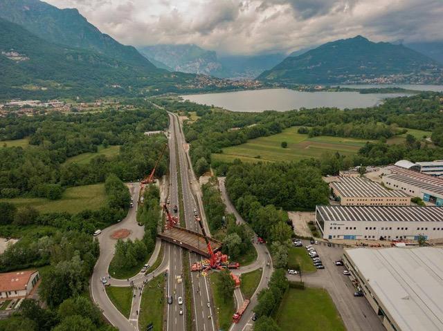 On the Annone's way grazie ad Autovictor - Autovictor trasporti eccezionali trasporto eccezionale -Notizie Veicoli industriali e leggeri - MC5.0-Macchine Cantieri 2