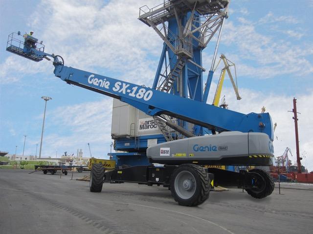 Genie vende la prima piattaforma in Marocco - Genie piattaforma telescopica piattaforme telescopiche ple -In quota Notizie - MC5.0-Macchine Cantieri 2