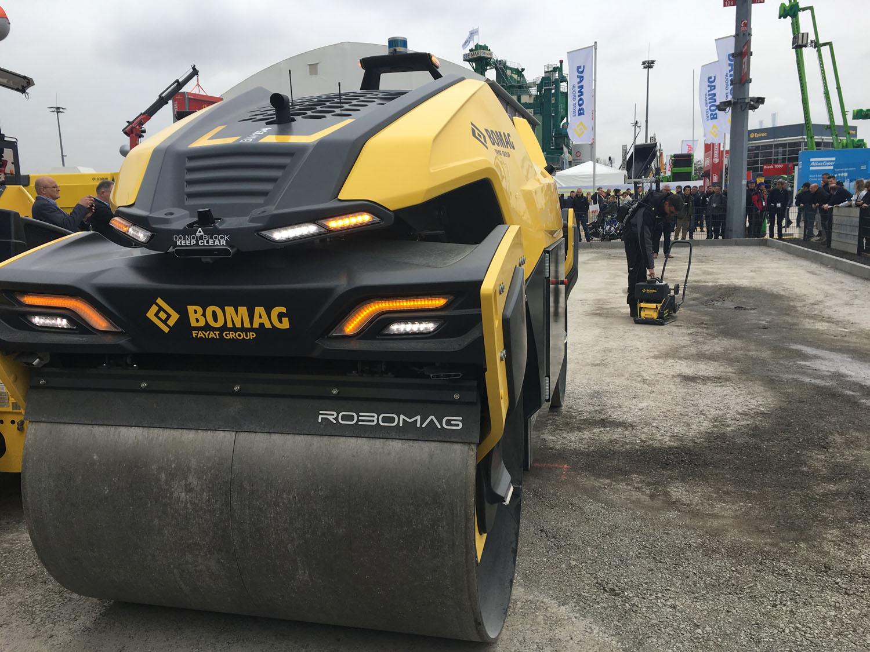 Robomag by Bomag, il futuro della compattazione? - Bomag digitalizzazione Robomag robot rulli rullo tandem -Notizie Stradali - MC5.0-Macchine Cantieri 1