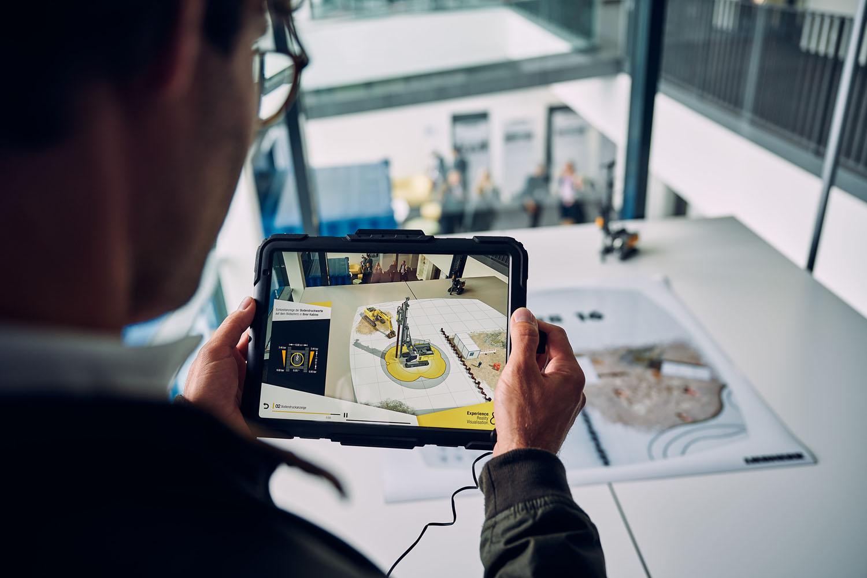 Liebherr AR Experience - AR Experience Liebherr Realtà aumentata -Notizie - MC5.0-Macchine Cantieri 3