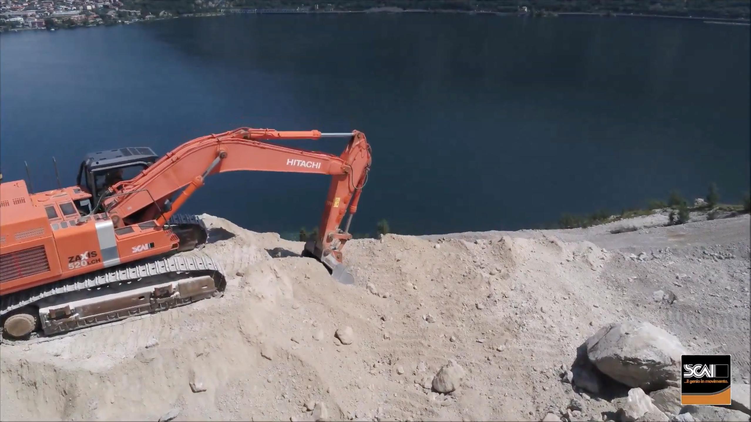 Viaggio nella Cava di Moregallo con Hitachi -  -Construction&Movimento Terra Notizie - MC5.0-Macchine Cantieri