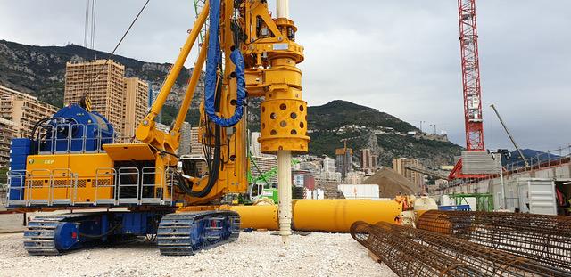 La gigantesca perforatrice Bauer BG 55 disponibile per il noleggio in Italia - Bauer BG 55 Bauer Macchine Italia perforatrice -Construction&Movimento Terra Notizie - MC5.0-Macchine Cantieri 2
