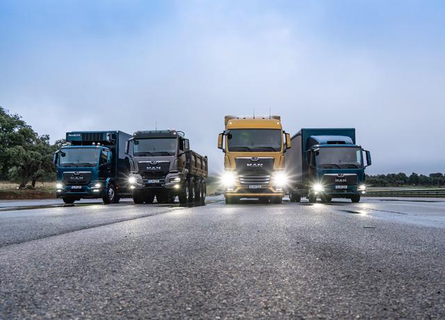 """Alla (prima) scoperta dei nuovi """"cuccioli"""" del Leone MAN - camion MAN TGL TGM TGS TGX The next generation truck veicoli industriali veicolo industriale -Notizie Veicoli industriali e leggeri - MC5.0-Macchine Cantieri 4"""