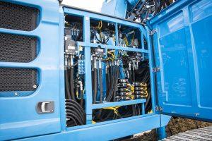 Nella nuova versione Blue Tech la perforatrice Soilmec SR-65 siarricchisce di tecnologie di perforazione e di aggiornamenti.